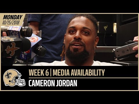 "Cameron Jordan - ""I think we're going to be a better team than last year"" 