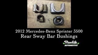 For 2010-2018 Mercedes Sprinter 3500 Sway Bar Bushing 55712ZN 2011 2012 2013