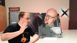 Asus RAMPAGE VI EXTREME OMEGA  - Płyta w cenie komputera.