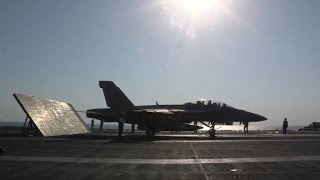 F/A-18 Hornets and EA-6B Prowlers Launch to Target ISIL in Iraq!