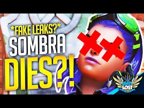 Overwatch - The Death of Sombra?! (Fake Leaks?)