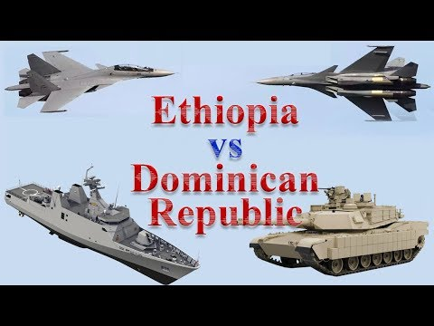 Ethiopia vs Dominican Republic Military Comparison 2017