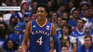 No. 2/1 Kansas defeats No. 4/4 Kentucky // Kansas Basketball // 1.28.17
