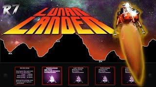 Lunar Lander | 1979 | Arcade | Gameplay | HD 720p 40FPS