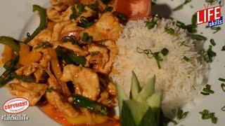 Chicken Chilli Dry Recipe - Best Chicken Chilli Dry Recipe   Life Skills Kitchen