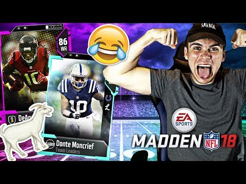 MY FAVORITE RECEIVERS TO USE TO WIN WEEKEND LEAGUE GAMES! | MADDEN 18 ULTIMATE TEAM FUNNY GAMEPLAY