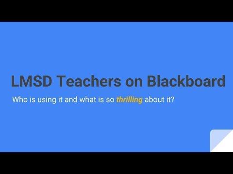 lmsd blackboard
