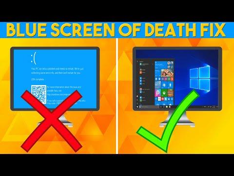 Best Tutorial Fix Any Blue Screen Of Death (BSOD)