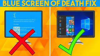 Best Tutorial Fix Any Blue Screen Of Death (BSOD)