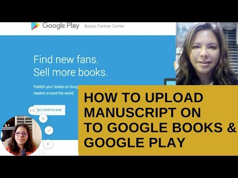How upload your book on Google Books & Google play fast DIY