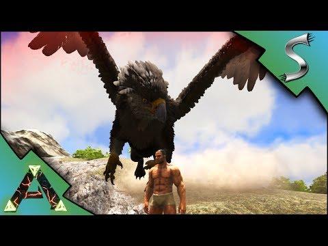 JOURNEY TO THE HIGHLANDS! GRIFFIN ATTACK! - Ark: RAGNAROK [DLC Gameplay E3]
