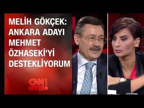 Melih Gökçek: Ankara adayı Mehmet...