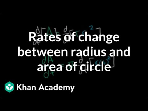 Related rates intro   Applications of derivatives   AP Calculus AB   Khan Academy