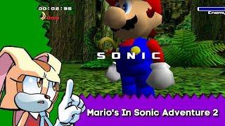 Mario Finds Himself in Sonic Adventure 2 - Sonic Adventure 2 Mod Showcase