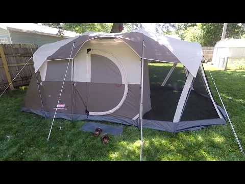 7dfc55a9d8e Coleman Weathermaster 6 Person Tent (Review) - YouTube