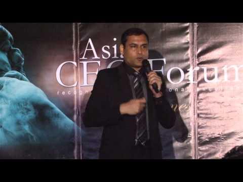 Asia CEO Forum - Maulik Parekh @ Raffles & Fairmont Hotel, January 21, 2013