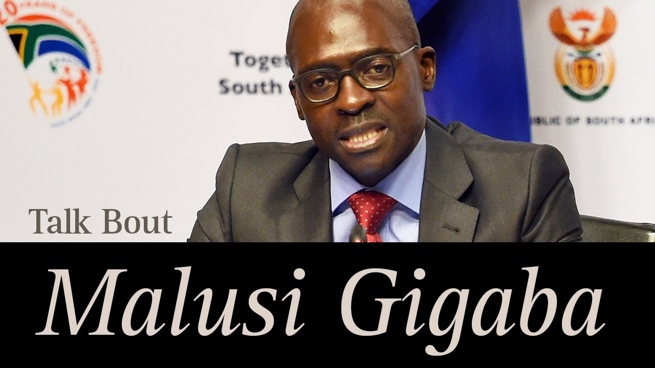 Malusi Gigaba - New South African Finance Minister - YouTube