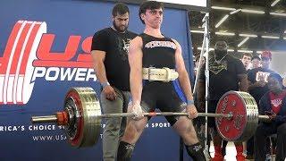 Comeback Powerlifting Meet