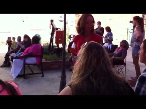Karaoke contest about to begin! Centennial Park Downtown Cu