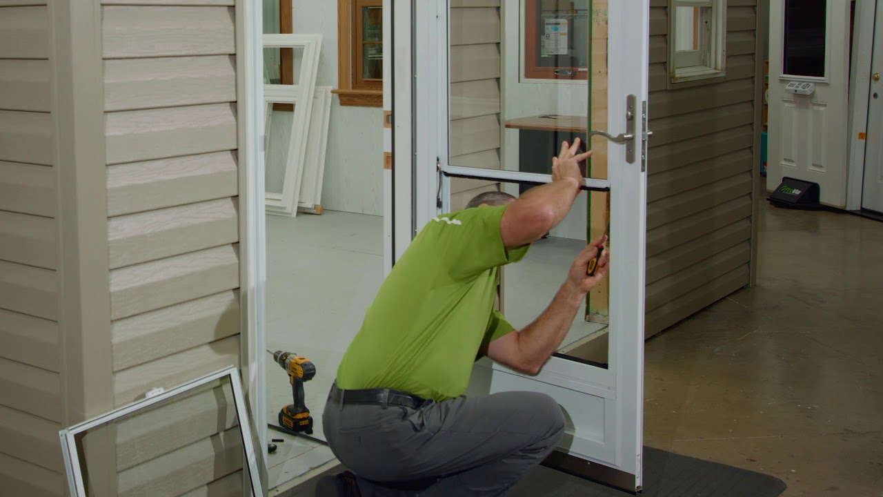 Balancer Replacement for ProVia Spectrum Storm Doors - YouTube on