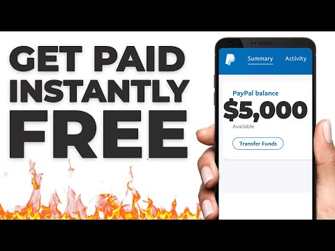 Get Paid In FREE PayPal Money INSTANTLY ($5,000+)   Make Money Online