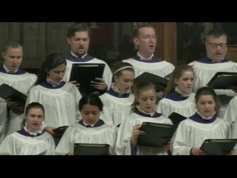 March 12, 2017: Sunday Worship Service at Washington National Cathedral