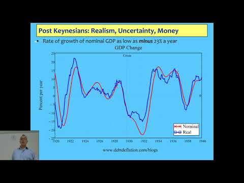 Becoming An Economist 2017 Lecture 04: Post Keynesian Economics