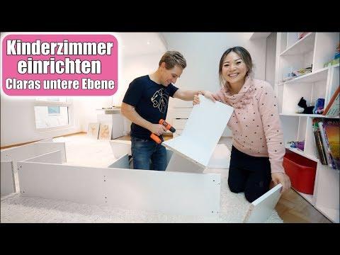 Claras untere Ebene einrichten 😍 Justus Lion INSIDE! Neue Kinderzimmer Möbel & Teppich | Mamiseelen