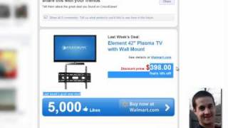 Facebook Fan Page Tip - The Walmart CrowdSaver Promotion