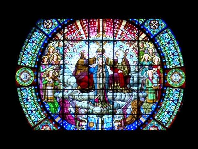 Descobrim Montserrat: La rosassa de la Basílica de Santa Maria
