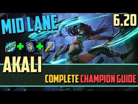 Akali: The Dangerous Mid Lane AP Assassin - League of Legends Champion Guide