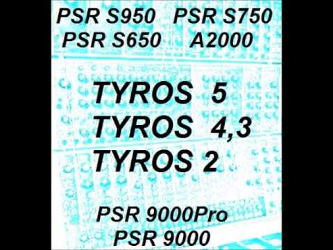 Saxy a Clarinety- 100Mb for Tyros 2,3,4,5 and PSR-S970,PSR-S770,PSR-S670,