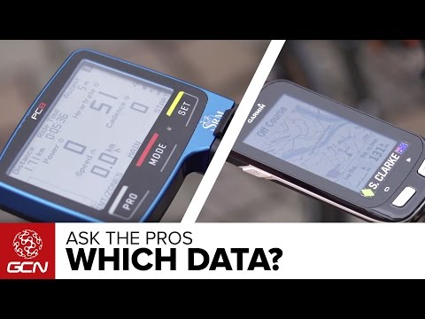 Ask The Pros - What Data Do You Have On Your Screen?