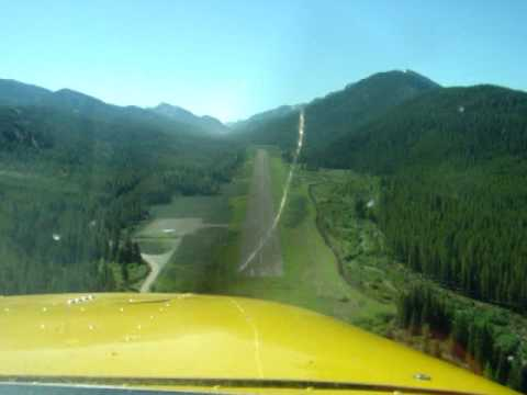 Final Approach - MT backcountry airstrip