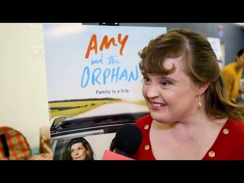 Jamie Brewer & the Cast of AMY AND THE ORPHANS on Breaking Boundaries OffBroadway