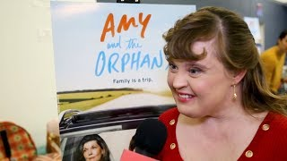 Jamie Brewer & the Cast of AMY AND THE ORPHANS on Breaking Boundaries Off-Broadway