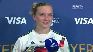 Alexandra Popp – Player of the Match – Germany v Nigeria