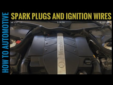How to Replace Spark Plugs and Ignition Wires on a 2005 Mercedes C240