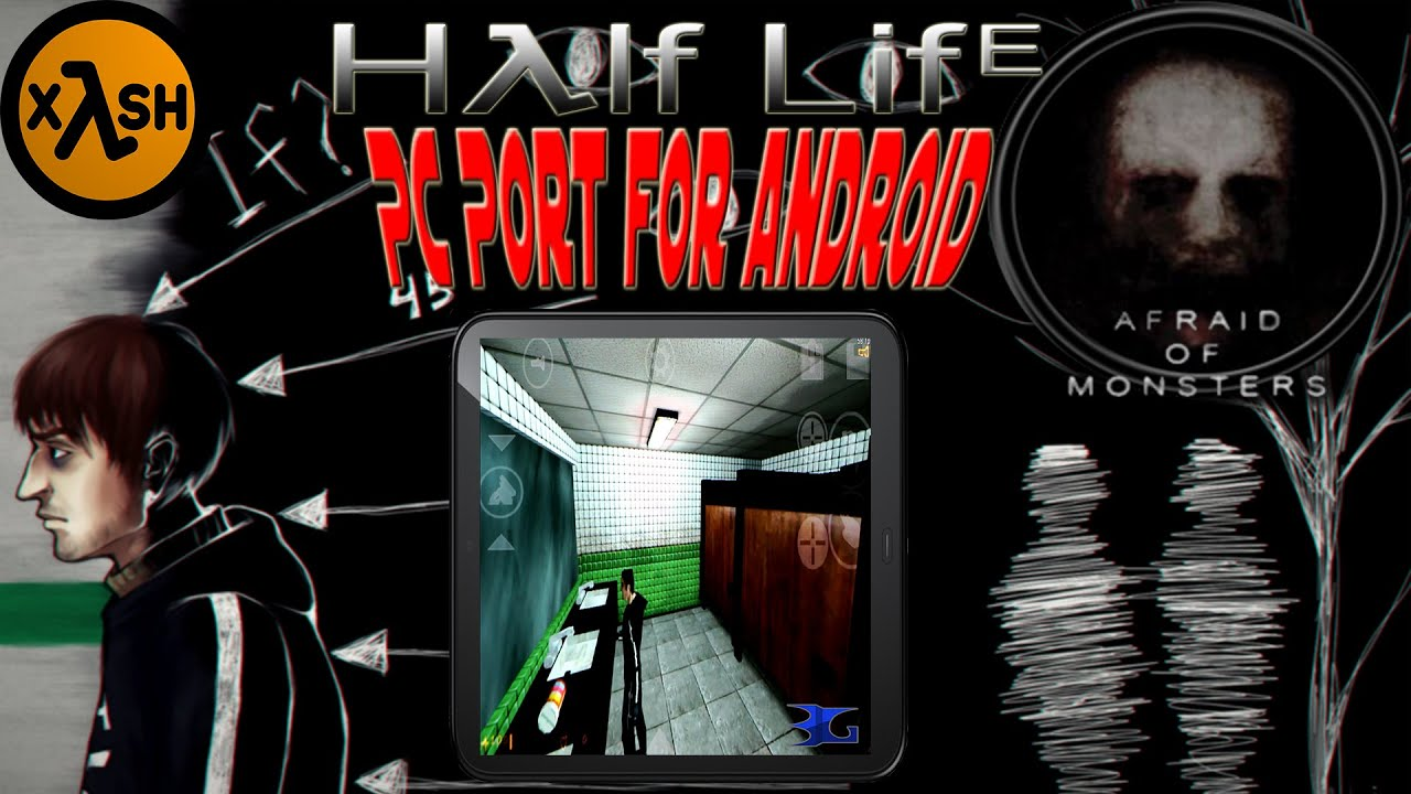 Half Life: Afraid of Monsters on Android with Xash3D (Note 2)
