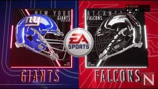 New York Giants vs Atlanta Falcons Madden 19 Full Game Simulation Nation