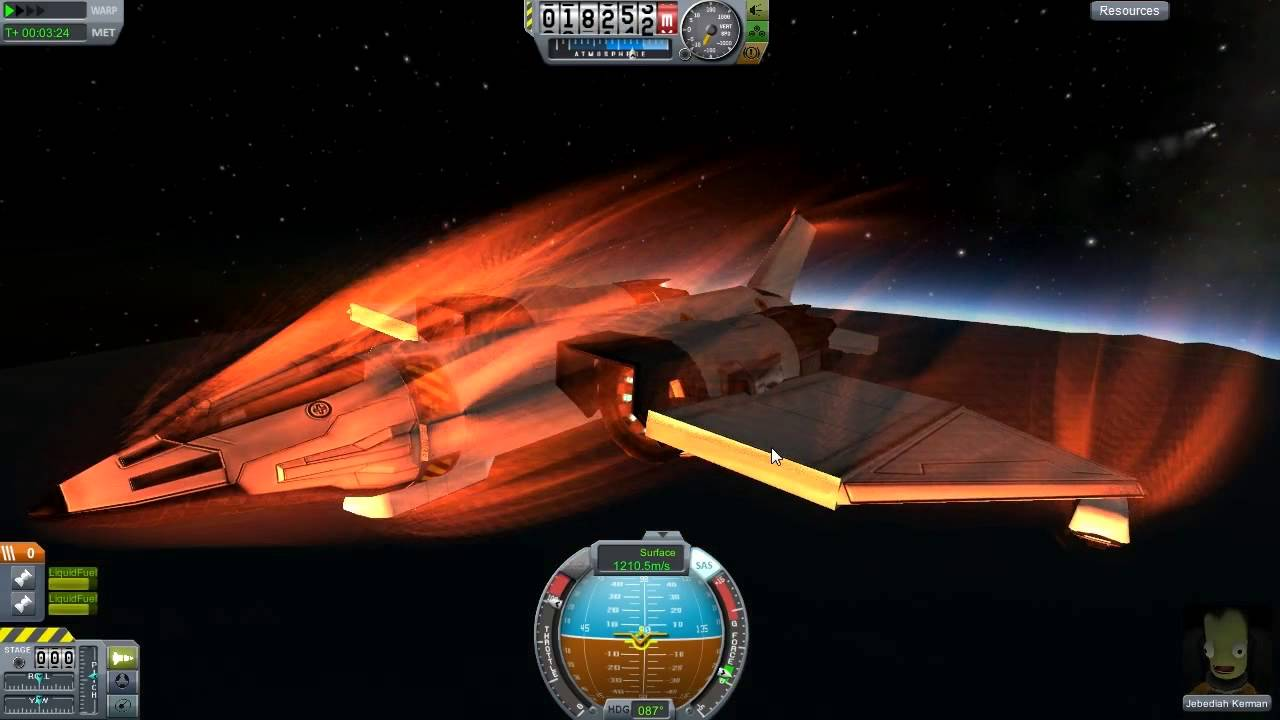 kerbal space program re entry - photo #23