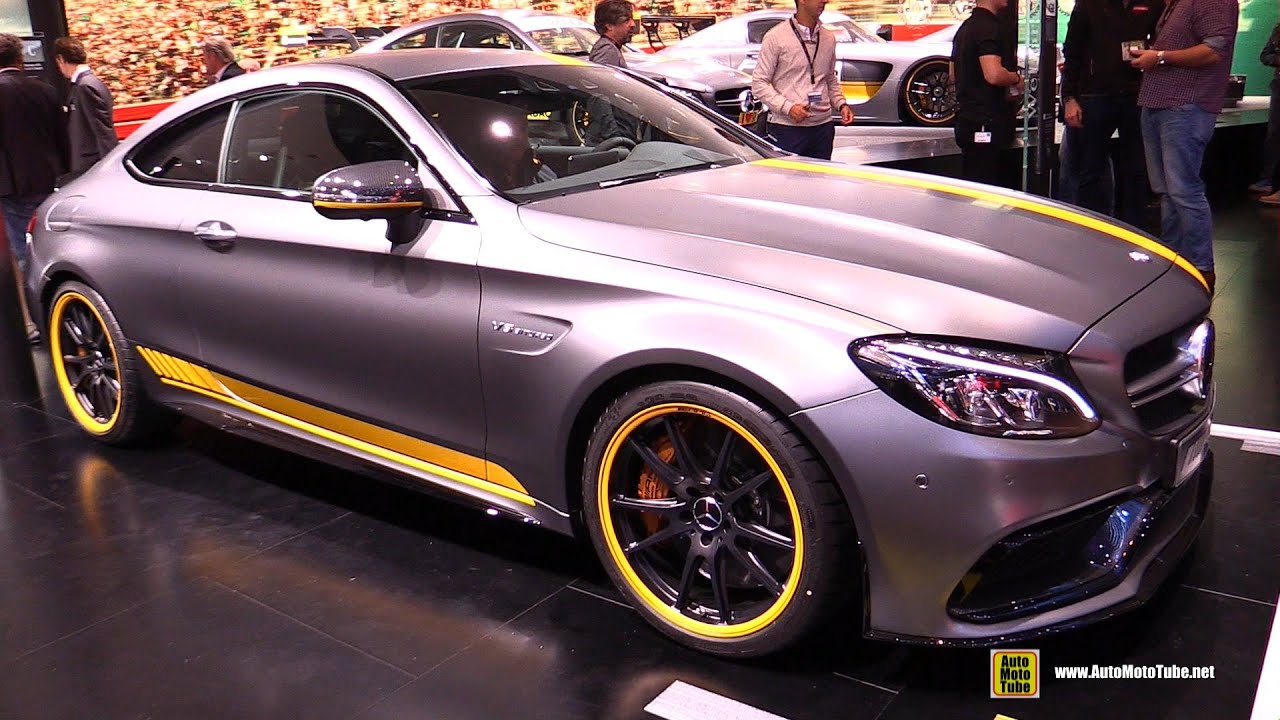 Mercedes amg c 63 s coupe edition 1 2016 wallpapers and hd images - 2016 Mercedes Amg C63 S Coupe Edition 1 Exterior Interior Walkaround 2015 Frankfurt Motor Show Youtube