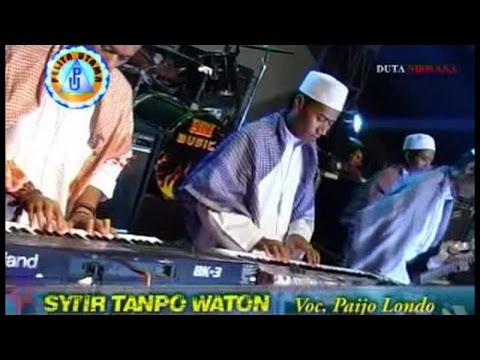 Paijo Londo - SYI'IR TANPO WATON (Official Lyrics Video)