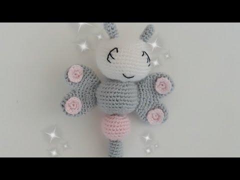 Amigurumi Süslü Tavşan Anahtarlık Yapımı (Baştan Sona Anlatım ... | 360x480