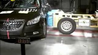 Краш тест Opel Insignia 2008 (E-NCAP ADAC)