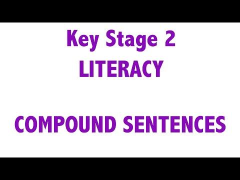 KS2 - Literacy - Compound Sentences