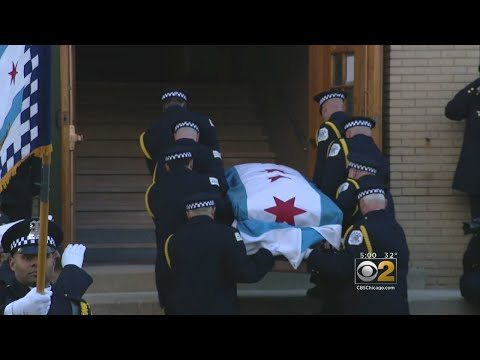 Thousands Attend Wake For Slain Officer