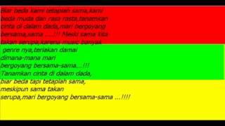 reggae indonesia full album Sejedewe - Beda Dan Rasa Rasta ( Lyrics )