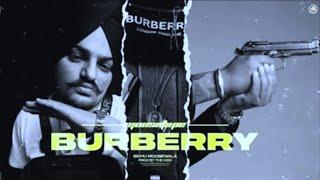 BURBERRY (Full Song) | Sidhu Moosewala | New Punjabi Song | Latest #Punjabi Song | Djpunjab