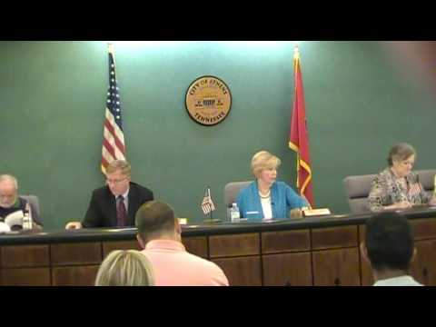 Athens City Council Meeting 9-20-16 Part one of three videos